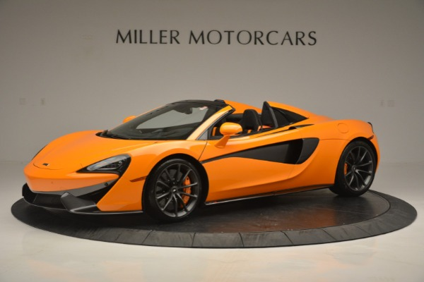 Used 2019 McLaren 570S Spider for sale Sold at Aston Martin of Greenwich in Greenwich CT 06830 1