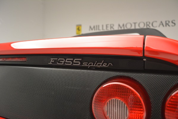 Used 1997 Ferrari 355 Spider 6-Speed Manual for sale Sold at Aston Martin of Greenwich in Greenwich CT 06830 27