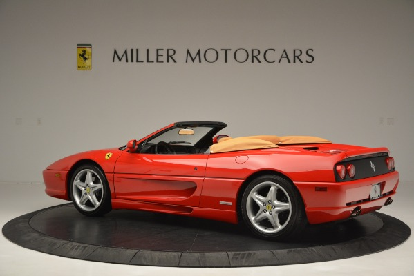 Used 1997 Ferrari 355 Spider 6-Speed Manual for sale Sold at Aston Martin of Greenwich in Greenwich CT 06830 4