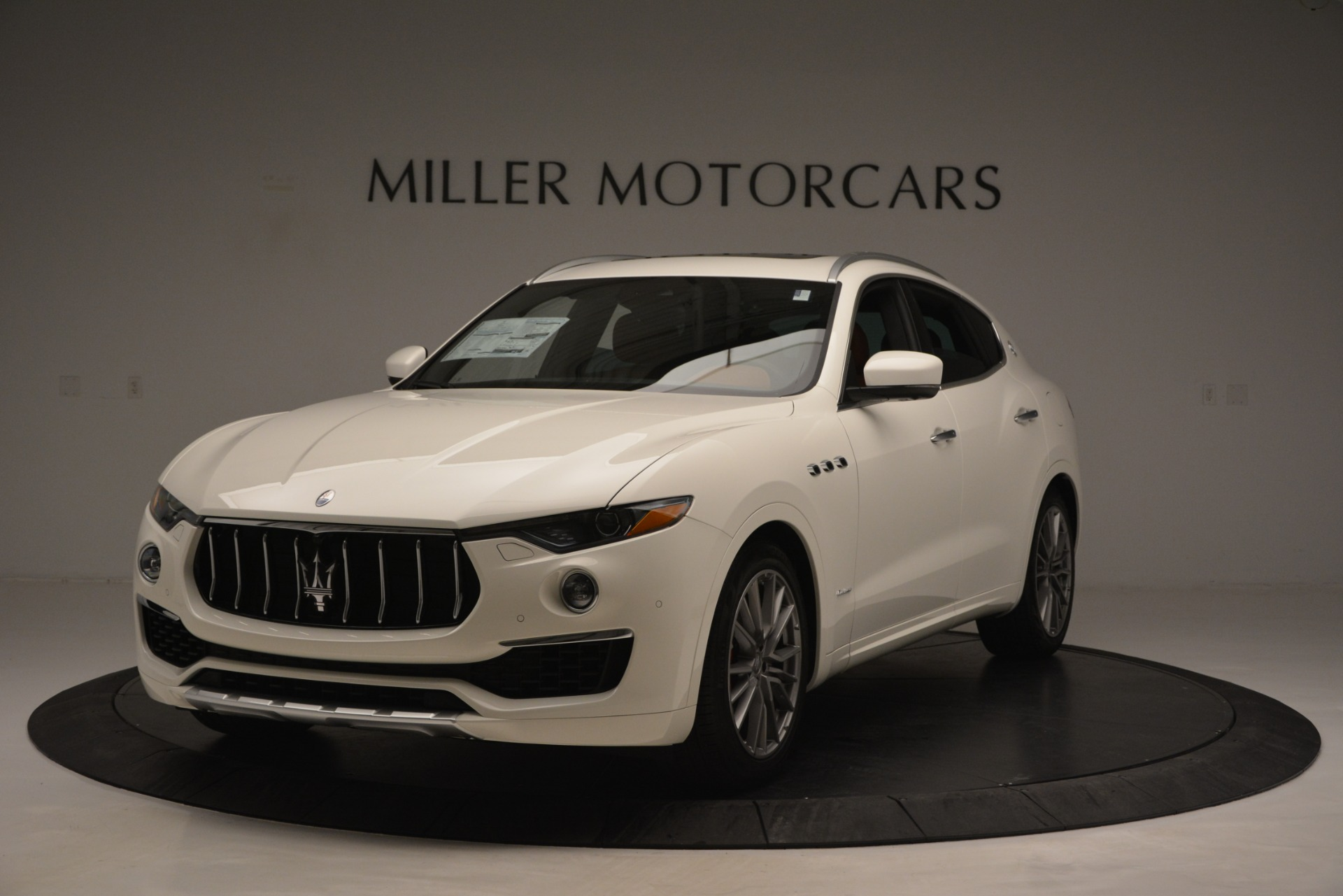 New 2019 Maserati Levante Q4 GranLusso for sale Sold at Aston Martin of Greenwich in Greenwich CT 06830 1