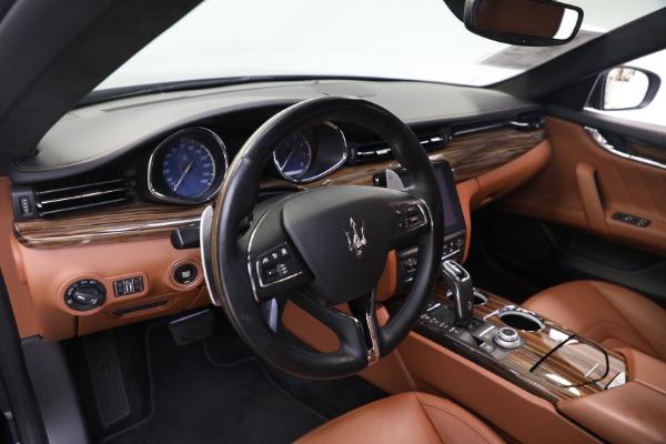 New 2019 Maserati Quattroporte S Q4 GranLusso for sale Sold at Aston Martin of Greenwich in Greenwich CT 06830 14