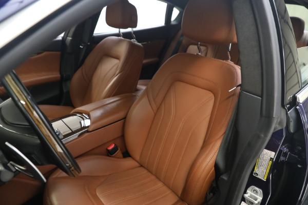New 2019 Maserati Quattroporte S Q4 GranLusso for sale Sold at Aston Martin of Greenwich in Greenwich CT 06830 15