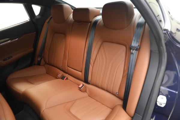 New 2019 Maserati Quattroporte S Q4 GranLusso for sale Sold at Aston Martin of Greenwich in Greenwich CT 06830 17