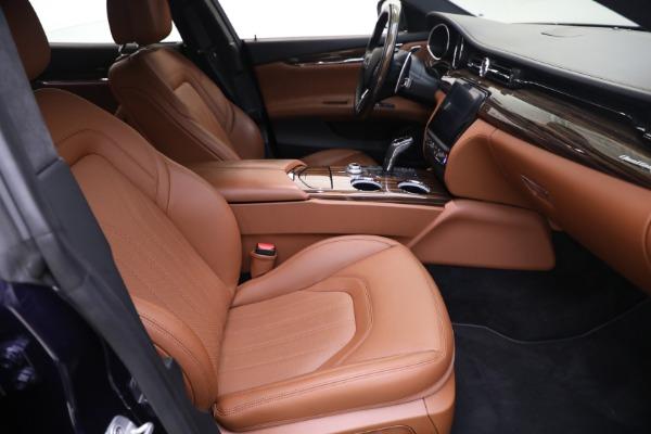 New 2019 Maserati Quattroporte S Q4 GranLusso for sale Sold at Aston Martin of Greenwich in Greenwich CT 06830 21