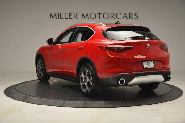 New 2019 Alfa Romeo Stelvio Q4 for sale Sold at Aston Martin of Greenwich in Greenwich CT 06830 5