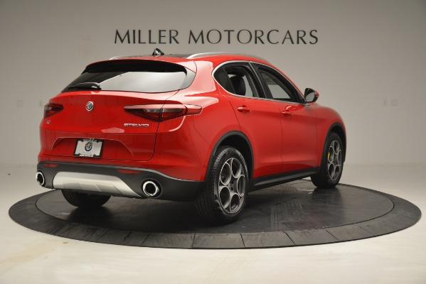 New 2019 Alfa Romeo Stelvio Q4 for sale Sold at Aston Martin of Greenwich in Greenwich CT 06830 7