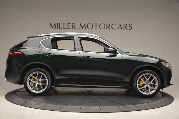 New 2019 Alfa Romeo Stelvio Q4 for sale Sold at Aston Martin of Greenwich in Greenwich CT 06830 9