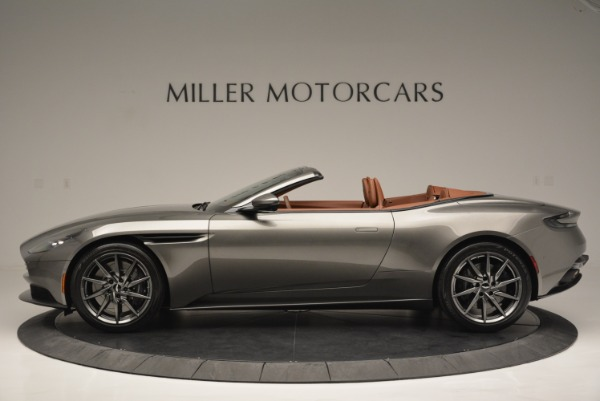 Used 2019 Aston Martin DB11 V8 Convertible for sale Sold at Aston Martin of Greenwich in Greenwich CT 06830 3