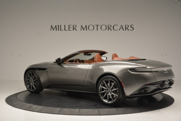 Used 2019 Aston Martin DB11 V8 Convertible for sale Sold at Aston Martin of Greenwich in Greenwich CT 06830 4