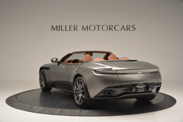 Used 2019 Aston Martin DB11 V8 Convertible for sale Sold at Aston Martin of Greenwich in Greenwich CT 06830 5