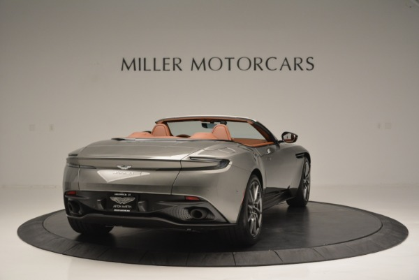 Used 2019 Aston Martin DB11 V8 Convertible for sale Sold at Aston Martin of Greenwich in Greenwich CT 06830 7