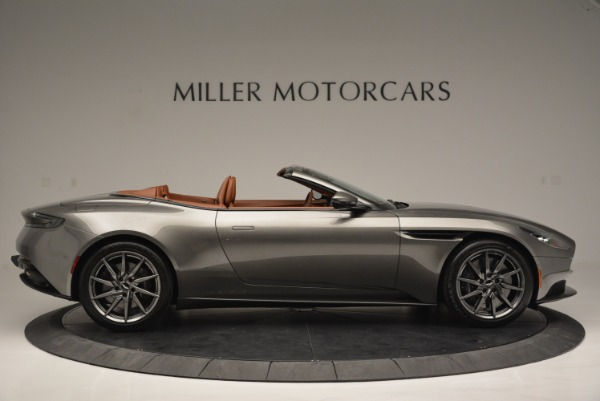 Used 2019 Aston Martin DB11 V8 Convertible for sale Sold at Aston Martin of Greenwich in Greenwich CT 06830 9