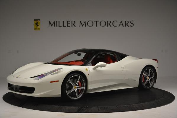 Used 2012 Ferrari 458 Italia for sale Sold at Aston Martin of Greenwich in Greenwich CT 06830 2