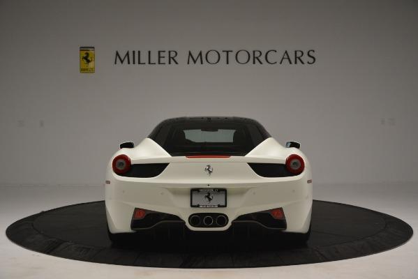Used 2012 Ferrari 458 Italia for sale Sold at Aston Martin of Greenwich in Greenwich CT 06830 6