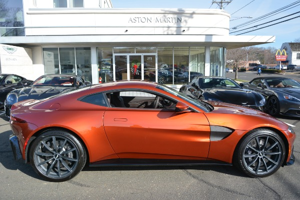 Used 2019 Aston Martin Vantage Coupe for sale Sold at Aston Martin of Greenwich in Greenwich CT 06830 22