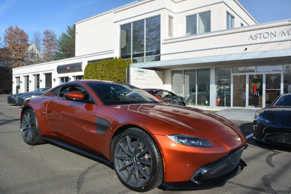 Used 2019 Aston Martin Vantage Coupe for sale Sold at Aston Martin of Greenwich in Greenwich CT 06830 23