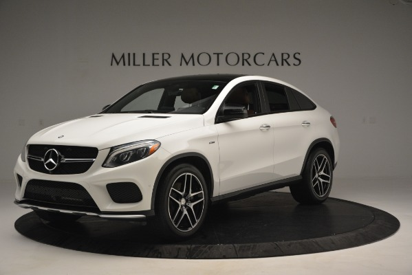 Used 2016 Mercedes-Benz GLE 450 AMG Coupe 4MATIC for sale Sold at Aston Martin of Greenwich in Greenwich CT 06830 2