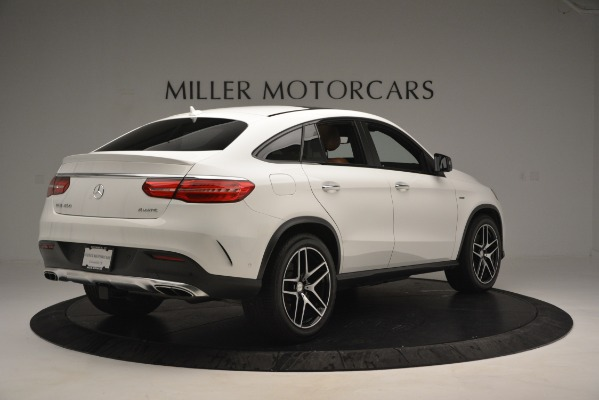 Used 2016 Mercedes-Benz GLE 450 AMG Coupe 4MATIC for sale Sold at Aston Martin of Greenwich in Greenwich CT 06830 8