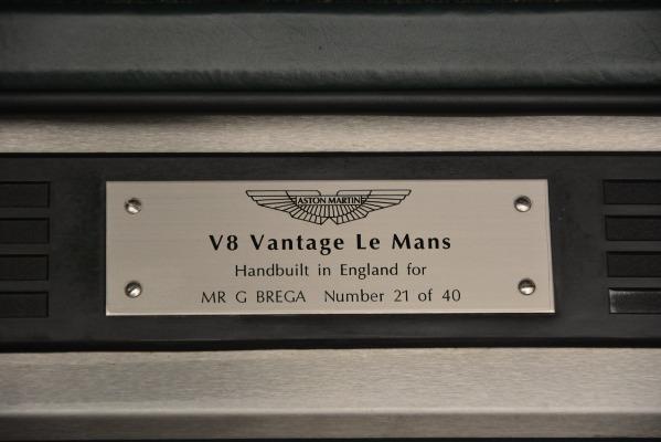Used 1999 Aston Martin V8 Vantage Le Mans V600 Coupe for sale $550,000 at Aston Martin of Greenwich in Greenwich CT 06830 19