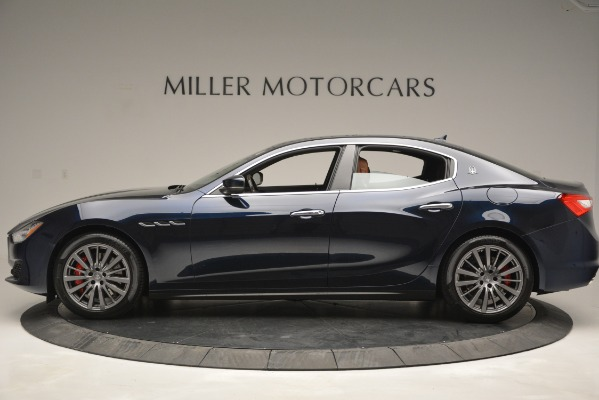 New 2019 Maserati Ghibli S Q4 for sale Sold at Aston Martin of Greenwich in Greenwich CT 06830 3