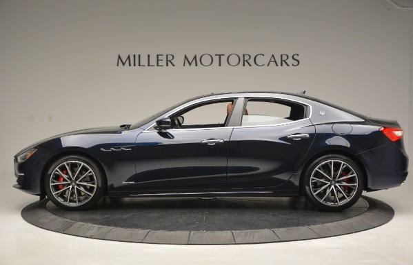 New 2019 Maserati Ghibli S Q4 GranLusso for sale Sold at Aston Martin of Greenwich in Greenwich CT 06830 3