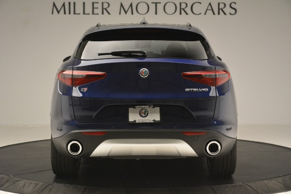 New 2019 Alfa Romeo Stelvio Sport Q4 for sale Sold at Aston Martin of Greenwich in Greenwich CT 06830 6