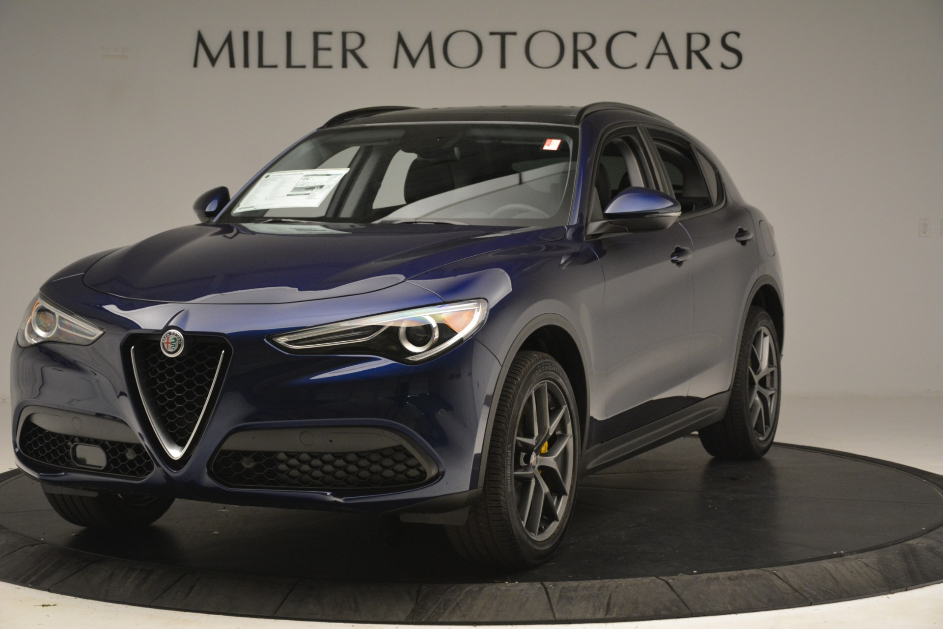 New 2019 Alfa Romeo Stelvio Sport Q4 for sale Sold at Aston Martin of Greenwich in Greenwich CT 06830 1