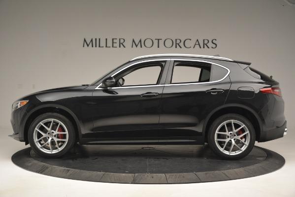 New 2019 Alfa Romeo Stelvio Q4 for sale Sold at Aston Martin of Greenwich in Greenwich CT 06830 3