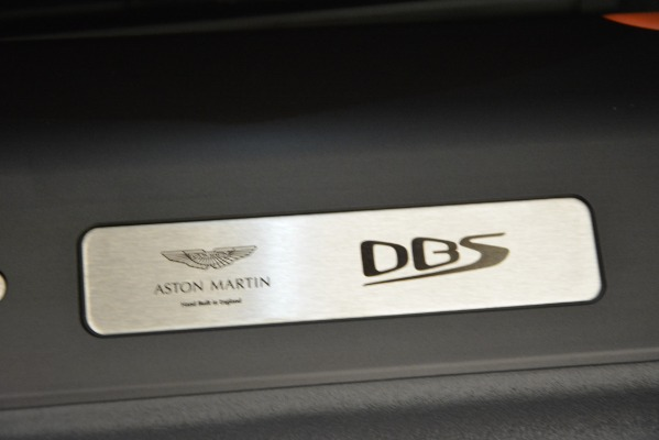 Used 2019 Aston Martin DBS Superleggera Coupe for sale $265,900 at Aston Martin of Greenwich in Greenwich CT 06830 27