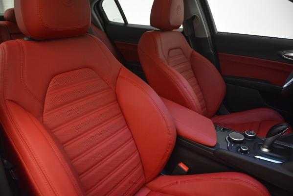 New 2019 Alfa Romeo Giulia Ti Sport Q4 for sale Sold at Aston Martin of Greenwich in Greenwich CT 06830 21