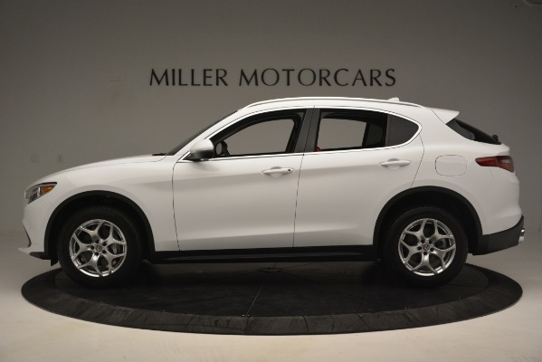 New 2019 Alfa Romeo Stelvio Q4 for sale Sold at Aston Martin of Greenwich in Greenwich CT 06830 3