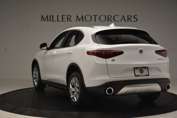 New 2019 Alfa Romeo Stelvio Q4 for sale Sold at Aston Martin of Greenwich in Greenwich CT 06830 5