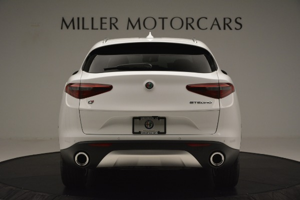 New 2019 Alfa Romeo Stelvio Q4 for sale Sold at Aston Martin of Greenwich in Greenwich CT 06830 6