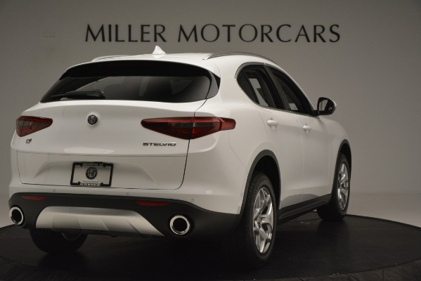 New 2019 Alfa Romeo Stelvio Q4 for sale Sold at Aston Martin of Greenwich in Greenwich CT 06830 7