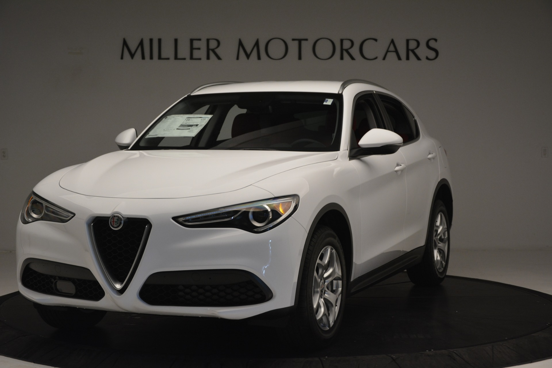 New 2019 Alfa Romeo Stelvio Q4 for sale Sold at Aston Martin of Greenwich in Greenwich CT 06830 1