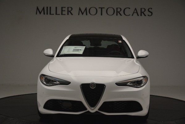 New 2019 Alfa Romeo Giulia Ti Sport Q4 for sale Sold at Aston Martin of Greenwich in Greenwich CT 06830 12