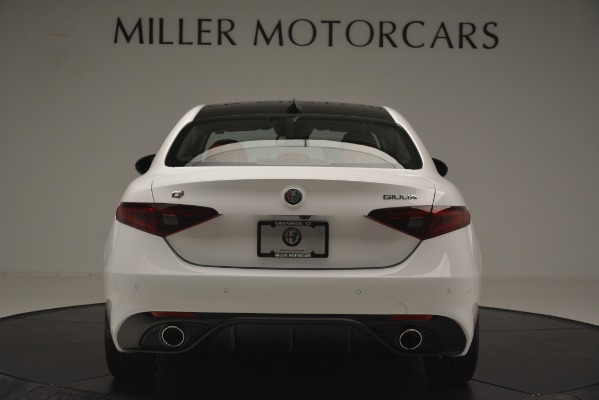 New 2019 Alfa Romeo Giulia Ti Sport Q4 for sale Sold at Aston Martin of Greenwich in Greenwich CT 06830 6