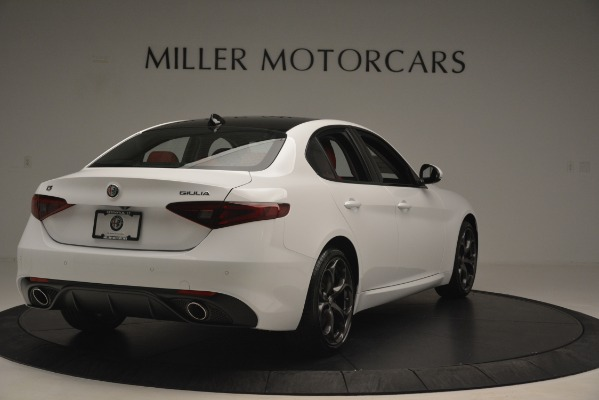 New 2019 Alfa Romeo Giulia Ti Sport Q4 for sale Sold at Aston Martin of Greenwich in Greenwich CT 06830 7