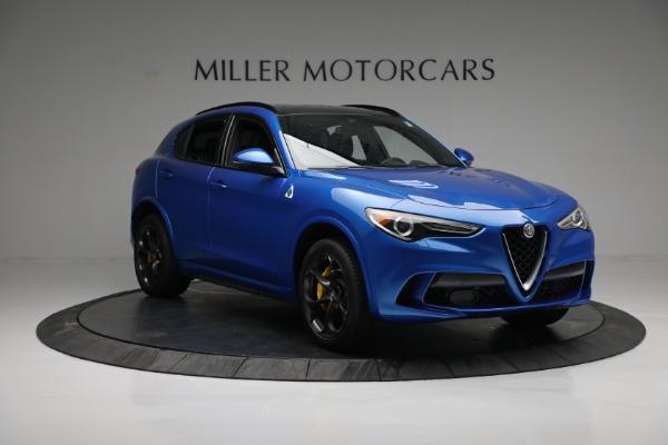 New 2019 Alfa Romeo Stelvio Quadrifoglio for sale Sold at Aston Martin of Greenwich in Greenwich CT 06830 11