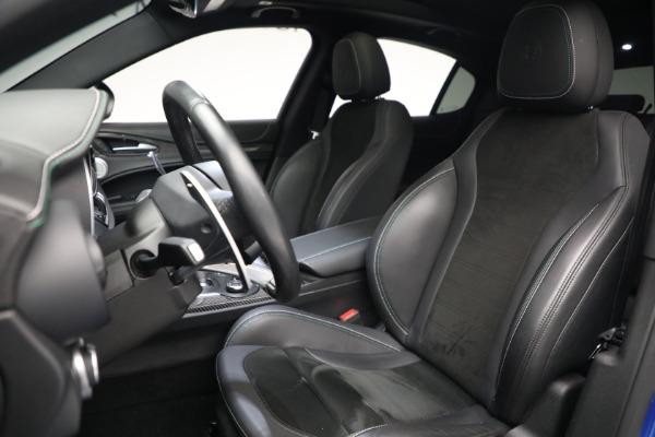 New 2019 Alfa Romeo Stelvio Quadrifoglio for sale Sold at Aston Martin of Greenwich in Greenwich CT 06830 15