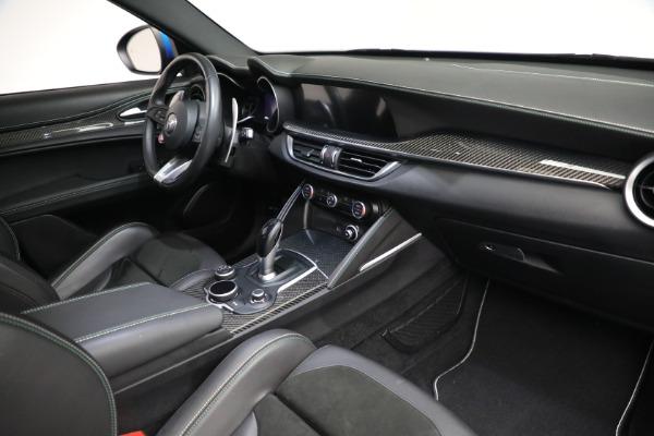 New 2019 Alfa Romeo Stelvio Quadrifoglio for sale Sold at Aston Martin of Greenwich in Greenwich CT 06830 20