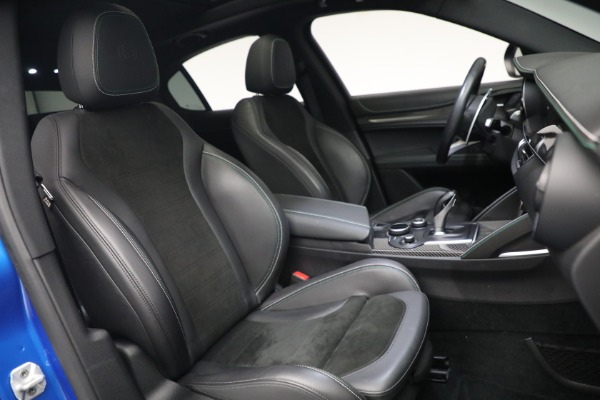 New 2019 Alfa Romeo Stelvio Quadrifoglio for sale Sold at Aston Martin of Greenwich in Greenwich CT 06830 22