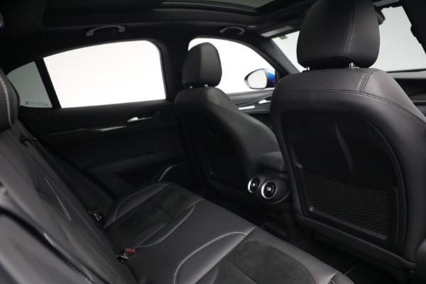 New 2019 Alfa Romeo Stelvio Quadrifoglio for sale Sold at Aston Martin of Greenwich in Greenwich CT 06830 28