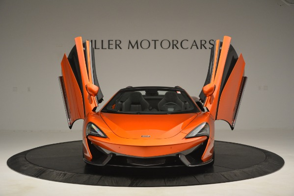 New 2019 McLaren 570S Spider Convertible for sale Sold at Aston Martin of Greenwich in Greenwich CT 06830 12