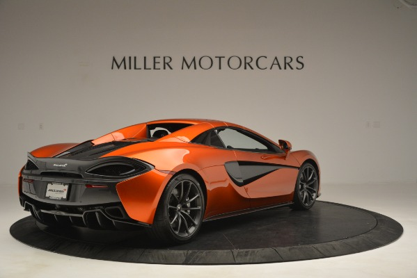 New 2019 McLaren 570S Spider Convertible for sale Sold at Aston Martin of Greenwich in Greenwich CT 06830 19