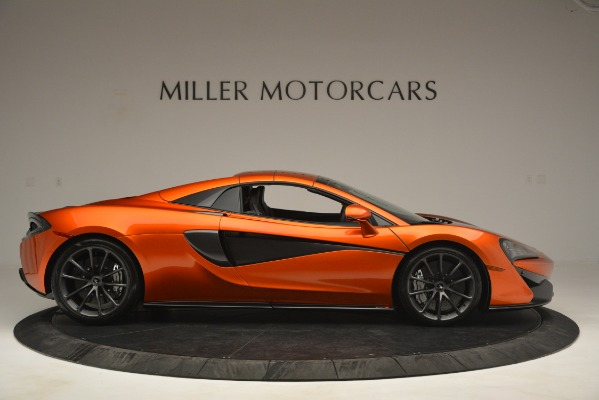 New 2019 McLaren 570S Spider Convertible for sale Sold at Aston Martin of Greenwich in Greenwich CT 06830 20