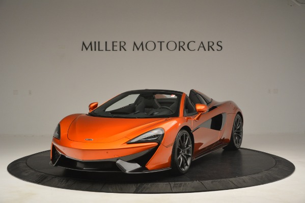 New 2019 McLaren 570S Spider Convertible for sale Sold at Aston Martin of Greenwich in Greenwich CT 06830 1