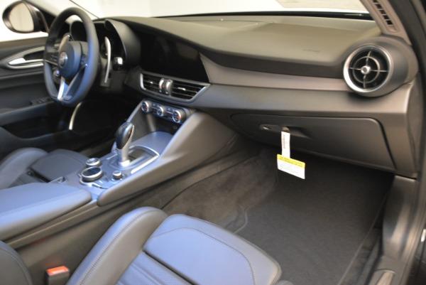 New 2019 Alfa Romeo Stelvio Ti Sport Q4 for sale Sold at Aston Martin of Greenwich in Greenwich CT 06830 19
