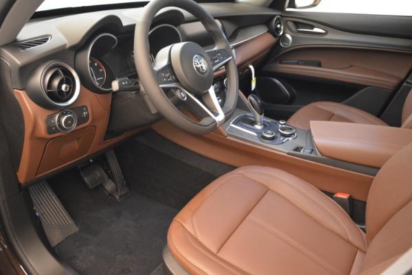 New 2019 Alfa Romeo Stelvio Ti Q4 for sale Sold at Aston Martin of Greenwich in Greenwich CT 06830 9