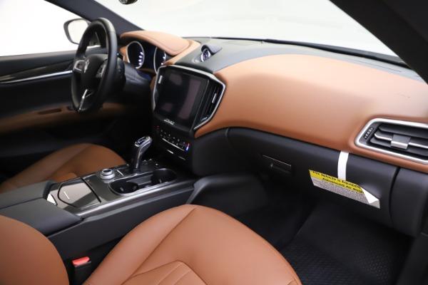 New 2019 Maserati Ghibli S Q4 for sale $91,630 at Aston Martin of Greenwich in Greenwich CT 06830 22